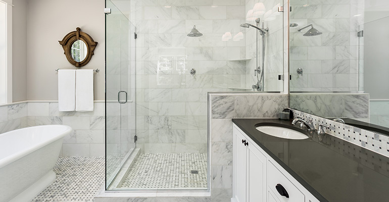 Shower Curtain vs Glass Enclosures