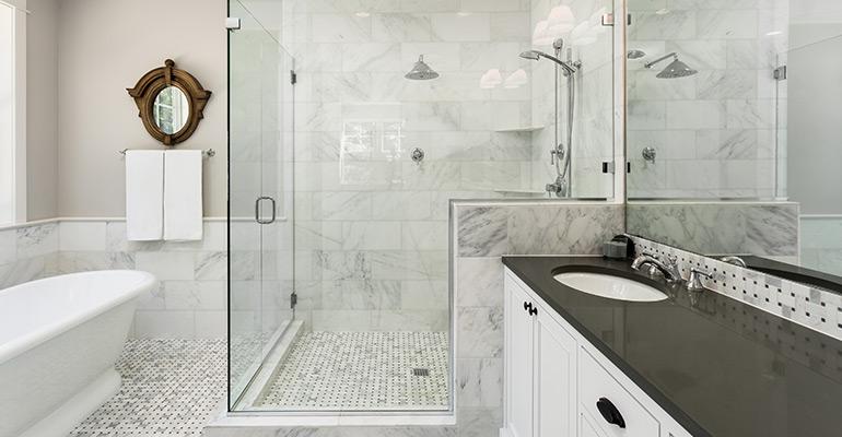 Shower Curtain vs Glass Enclosures | Bathroom Renovations Brisbane | Complete Bathroom Renovations QLD